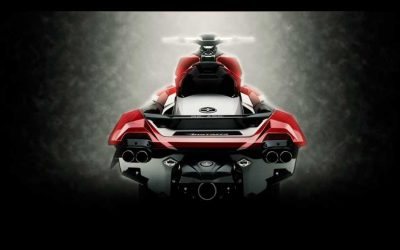 Belassi Personal Watercraft is a Super Cool Jetski on a very dark body of water