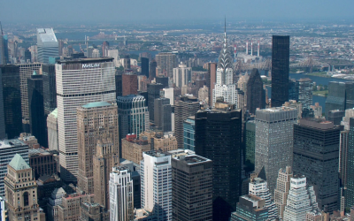 cities featuring the New York Skyline