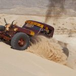 Hauk Designs Custom Vehicle Off road in the sand